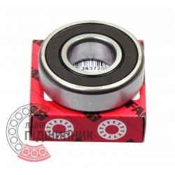 6204-2RSR [FAG Schaeffler] Deep groove sealed ball bearing