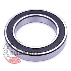 6017 2RS Deep groove ball bearing