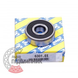 6301.EE [SNR] Deep groove sealed ball bearing