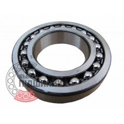 1207SKC3 [NTN] Double row self-aligning ball bearing