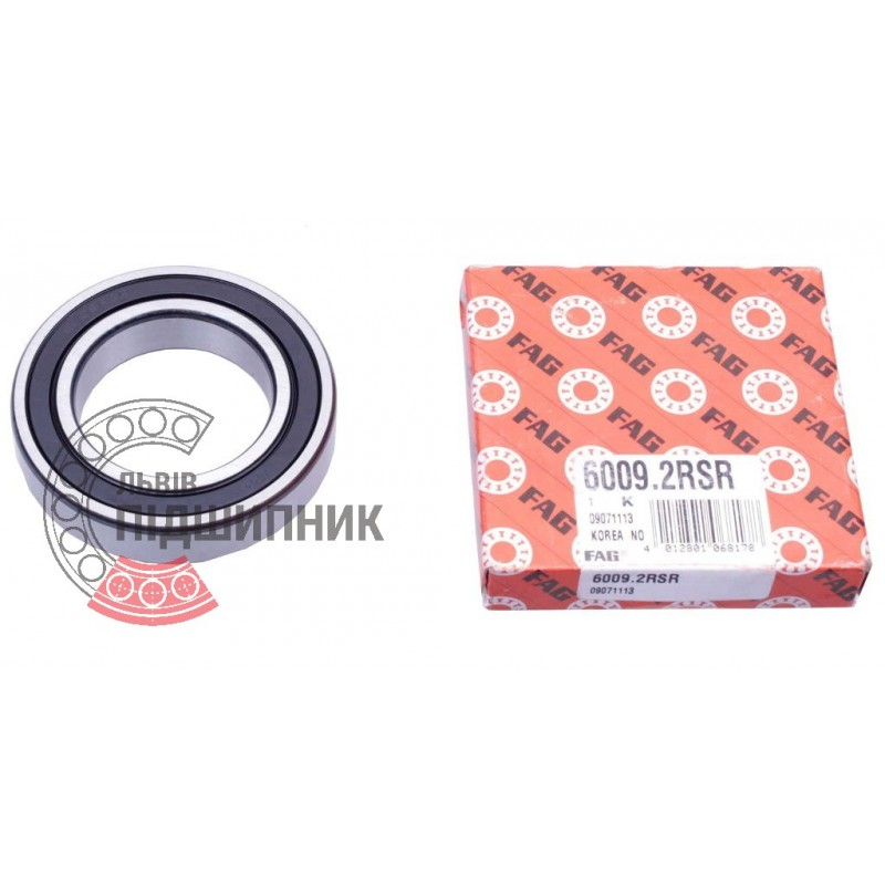 6208-2RSR Sealed FAG Ball Bearing