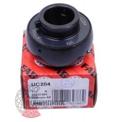 UC204 Black Series [FAG Schaeffler] Radial insert ball bearing