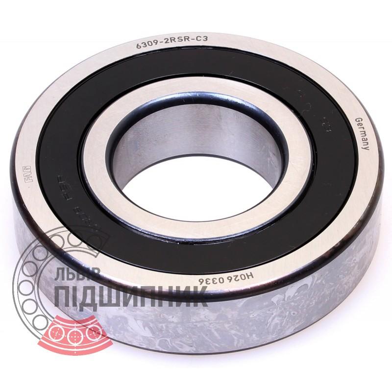 6309-2RS FAG Ball Bearing  45x100x25 mm 6309-2RSR