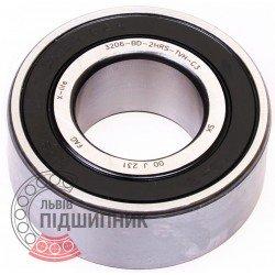 3206-BD-XL-2HRS-TVH [FAG Schaeffler] Double row angular contact ball bearing