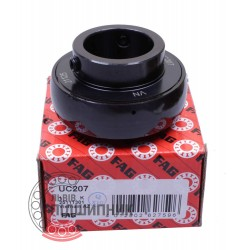UC207 Black-Series [FAG] Insert ball bearing