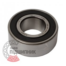 3206-BD-XL-2HRS-TVH-C3 [FAG Schaeffler] Double row angular contact ball bearing