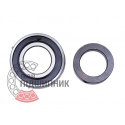 Radial insert ball bearing SA209 (YET 209) [CT]