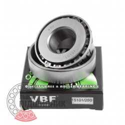 Tapered roller bearing 15101/15250 [VBF]