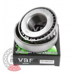 Tapered roller bearing 15106/15250 [VBF]