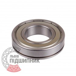 Deep groove ball bearing 6208ZNR [GPZ]