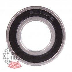 1000901 (61901 2RS) [VBF] Пiдшипник кульковий