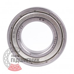 61902 ZZ [CX] Deep groove ball bearing