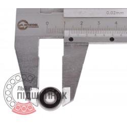 619/5 ZZ Deep groove ball bearing