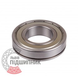 6208ZNR [Harp] Deep groove ball bearing
