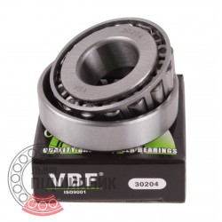 30204 [VBF] Tapered roller bearing