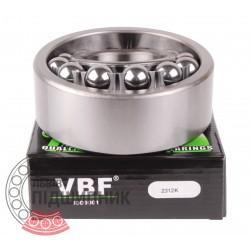 2312K [VBF] Self-aligning ball bearing