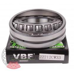 3512 (22212 CW33) [VBF] Сферический роликовый подшипник
