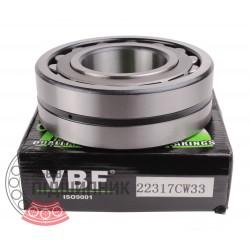 22317 CW33 [VBF] Spherical roller bearing