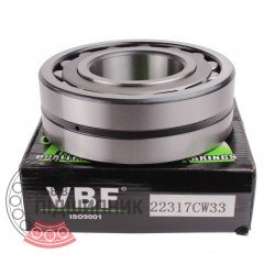 22317 CW33 [VBF] Spherical roller bearing