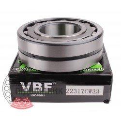 3617 [22317 CW33] [VBF] Сферичний роликовий підшипник