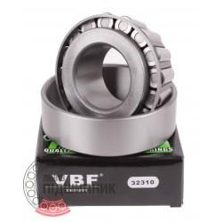 7610 (32310) [VBF] Конічний роликовий підшипник