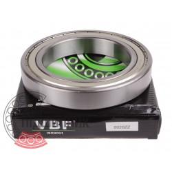 6020-ZZ [VBF] Deep groove ball bearing