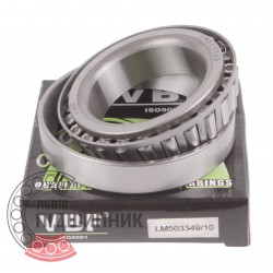 LM503349/10 [VBF] Tapered roller bearing
