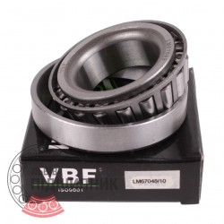 LM67048/10 [VBF] Tapered roller bearing