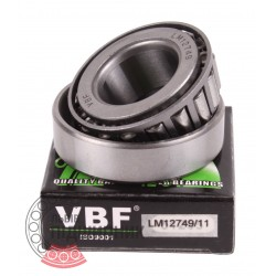 LM12749/11 [VBF] Tapered roller bearing
