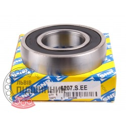 6207SEE [SNR] Self-aligning ball bearing