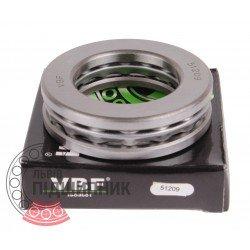 8209 [51209] [VBF] Thrust ball bearing