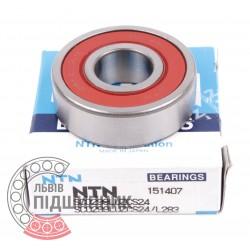 Deep groove ball bearing SC0299LUZCS24 [NTN]