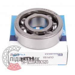 Deep groove ball bearing SC03A39CS20 [NTN]