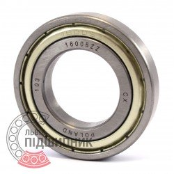 16005 ZZ [CX] Deep groove ball bearing
