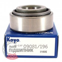 09081/09196 [Koyo] Tapered roller bearing