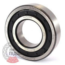 NUP206E [Kinex ZKL] Cylindrical roller bearing