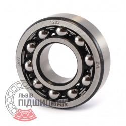 Self-aligning ball bearing 1202 [Kinex ZKL]