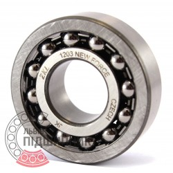 Self-aligning ball bearing 1203 [Kinex ZKL]