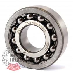 Self-aligning ball bearing 1203 [Kinex ZKL]