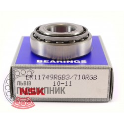 LM11749/10 [NSK] Tapered roller bearing