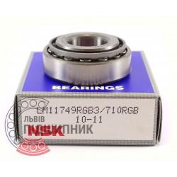 LM11749/10 [NSK] Конічний роликовий підшипник