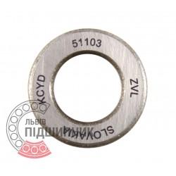 8103 (51103) [ZVL] Упорный шарикоподшипник