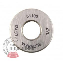 8100 (51100) [ZVL] Опорний кульковий підшипник