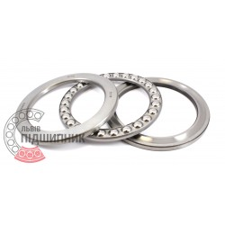 Thrust ball bearing 51118 [DPI] [India]