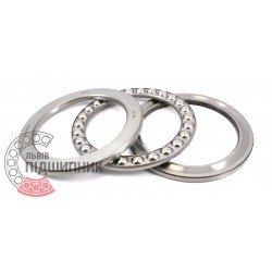 Thrust ball bearing 51118 [DPI] [India]