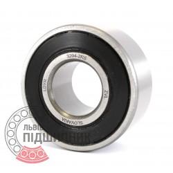 3204-2RS (3056204) [ZVL] Радіально-опорний кульковий підшипник