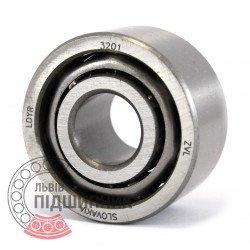 3201 (3056201) [ZVL] Радіально-опорний кульковий підшипник