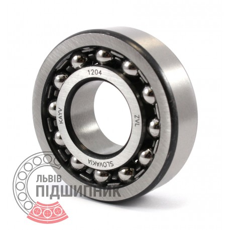 1204 [Kinex ZKL] Self-aligning ball bearing