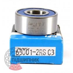 63001-2RS C3 [PFI] Пiдшипник кульковий