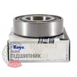 180103 (6003-2RS C3) [Koyo] Пiдшипник кульковий